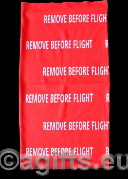 бандана remove before flight